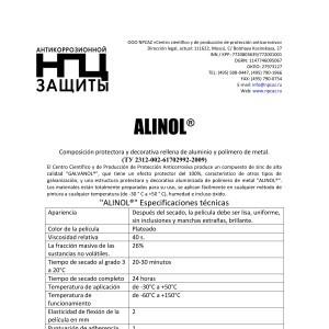 Alinol Ficha Tecnica ES