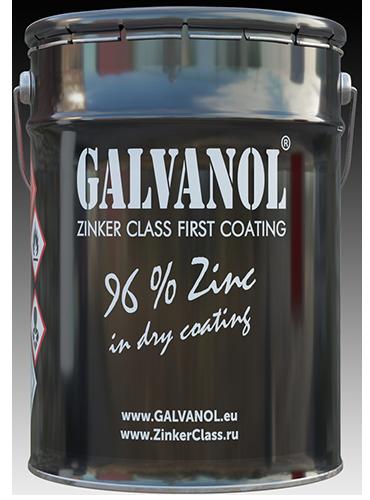 Recubrimiento para galvanizar Galvanol